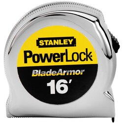 Stanley Tools - 16 ft PowerLock Tape Measure with BladeArmor - 33-516