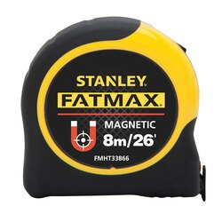 Stanley Tools - 8m26 ft FATMAX Magnetic Tape Measure - FMHT33866