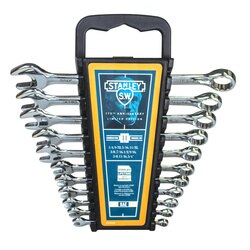 Stanley Tools - Stanley 11pc Combination Wrench Set  SAE - STMT82806