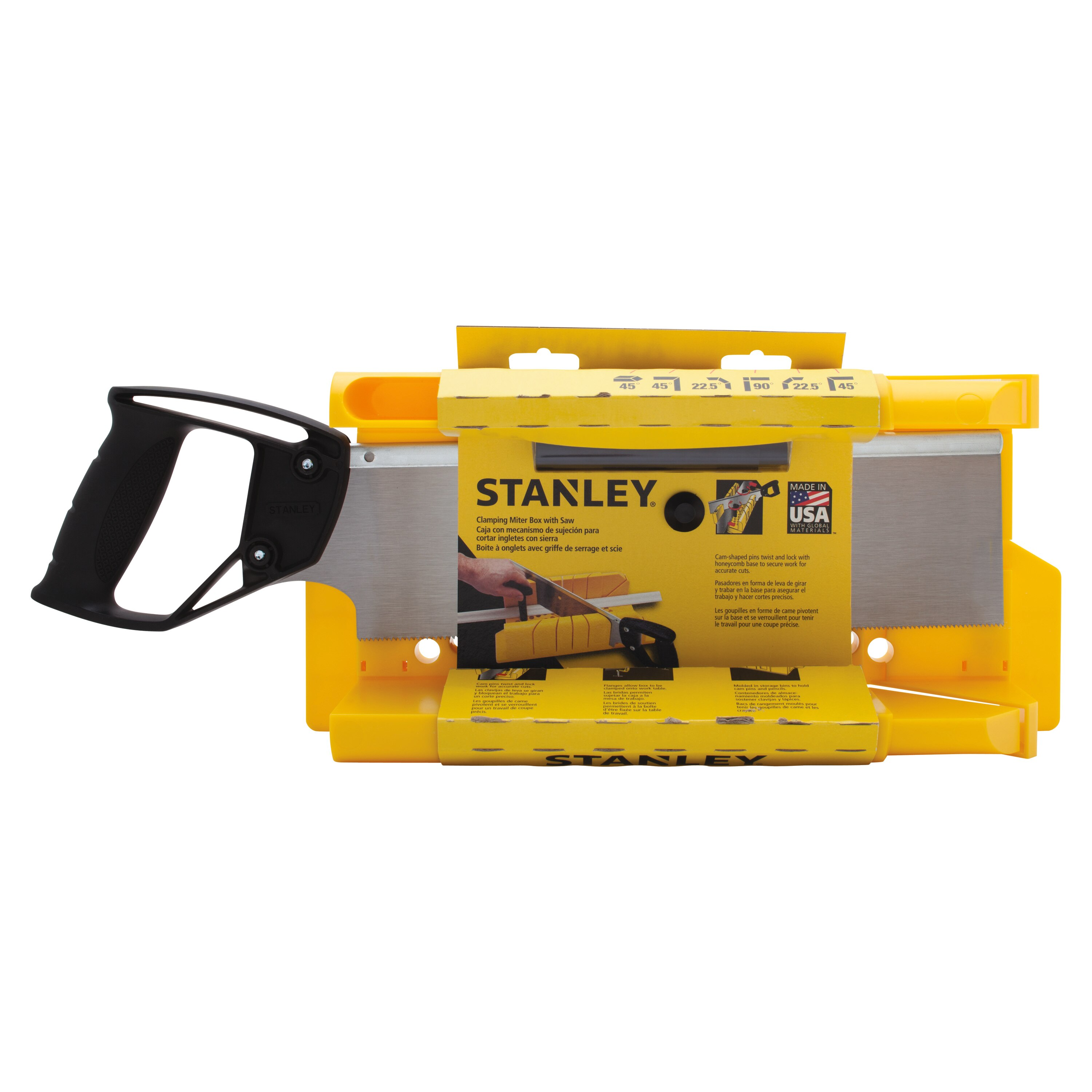 Stanley Tools - Clamping Miter Box with 14 in Saw - 20-600