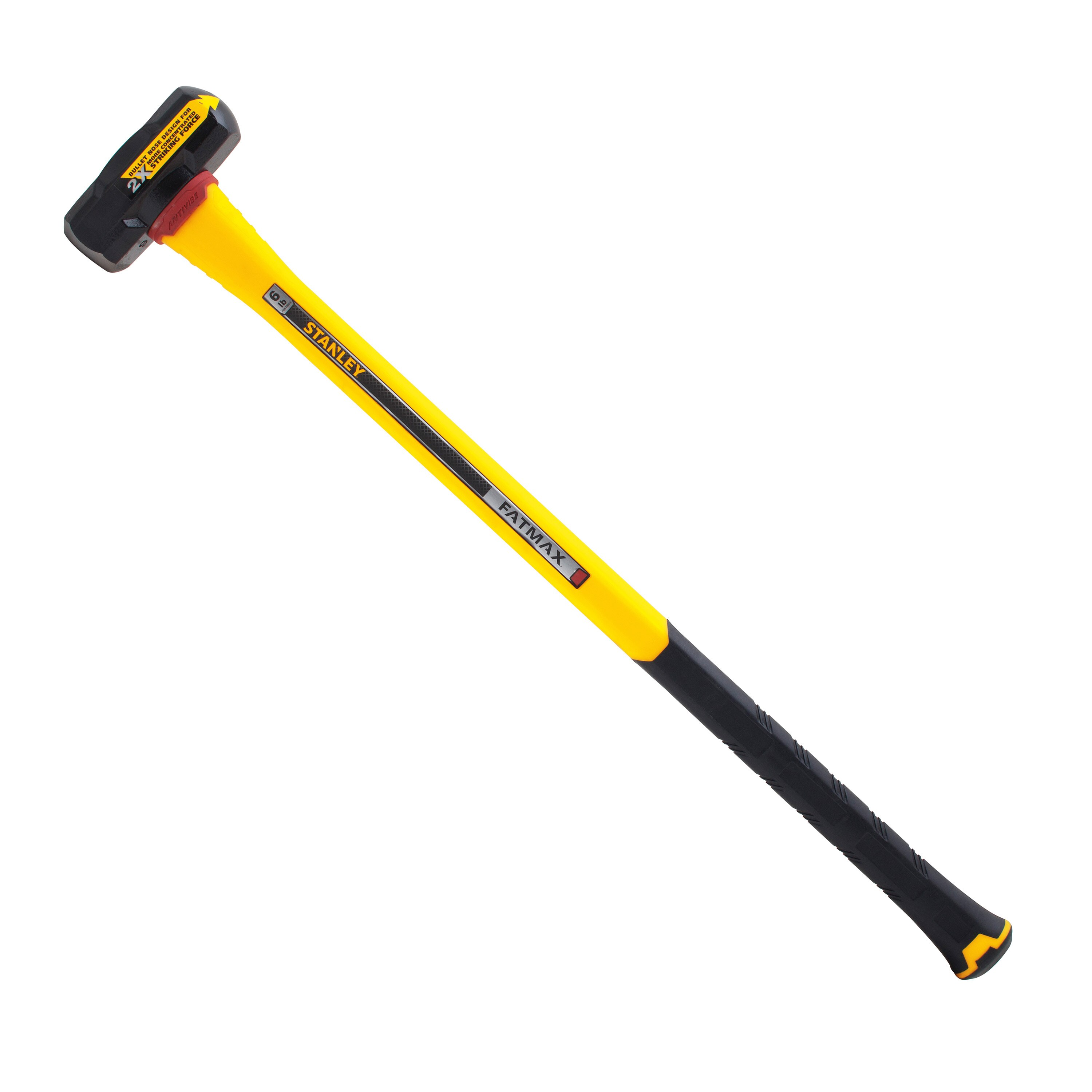 Stanley Tools - 6 lb AntiVibe Sledge Hammer - FMHT56010
