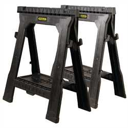 Stanley Tools - 2pack Folding Sawhorses - 060864R