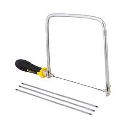 Stanley Tools - 634 in FATMAX Coping Saw With 3 Blades - 15-106A