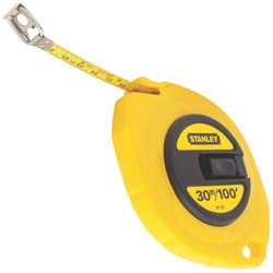 Stanley Tools - 30m100 ft Steel Long Tape - 34-107