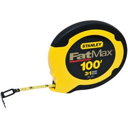 Stanley Tools - 100 ft FATMAX Steel Long Tape - 34-130