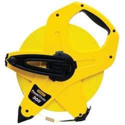 Stanley Tools - 300 ft PowerWinder Fiberglass Long Tape - 34-762