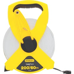 Stanley Tools - 60m200 ft Fiberglass Long Tape - 34-794