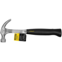 Stanley Tools - 16 oz Curved Claw Steel Nailing Hammer - 51-126