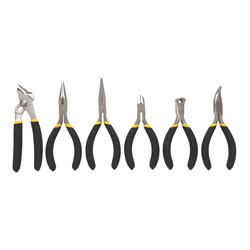 Stanley Tools - 6 pc BiMaterial Mini Plier Set - 84-079