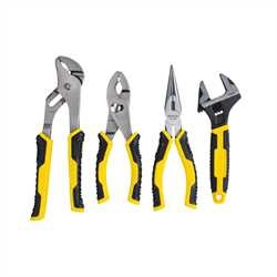 Stanley Tools - 4pc Pliers and Adjustable Wrench Set - 84-558
