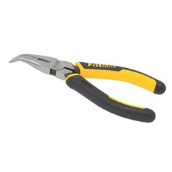 Stanley Tools - 638 in Bent Long Nose Pliers with Cutter - 89-871