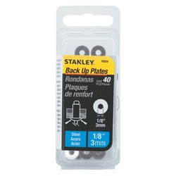 Stanley Tools - 40 pk 17 in Steel Back Up Plates - PBS4