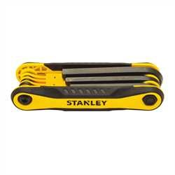 Stanley Tools - 8 pc Folding Hex Key Set - STHT71800