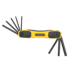 Stanley Tools - 8 Pc Star Folding Hex Key Set - STHT71802