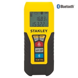 Stanley Tools - TLM99S BluetoothEnabled Laser Distance Measurer - STHT77343