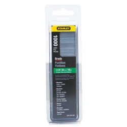 Stanley Tools - 1000 pc 114 inBrad Nails - SWKBN1250