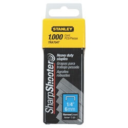 Stanley Tools - 1000 pc 14 in Heavy Duty Staples - TRA704T