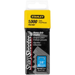 Stanley Tools - 1000 pc 38 in Heavy Duty Staples - TRA706T