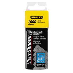 Stanley Tools - 1000 pc 916 in Heavy Duty Staples - TRA709T