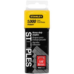 Stanley Tools - 1000 pc 14 in Heavy Duty Staples - TRC604T