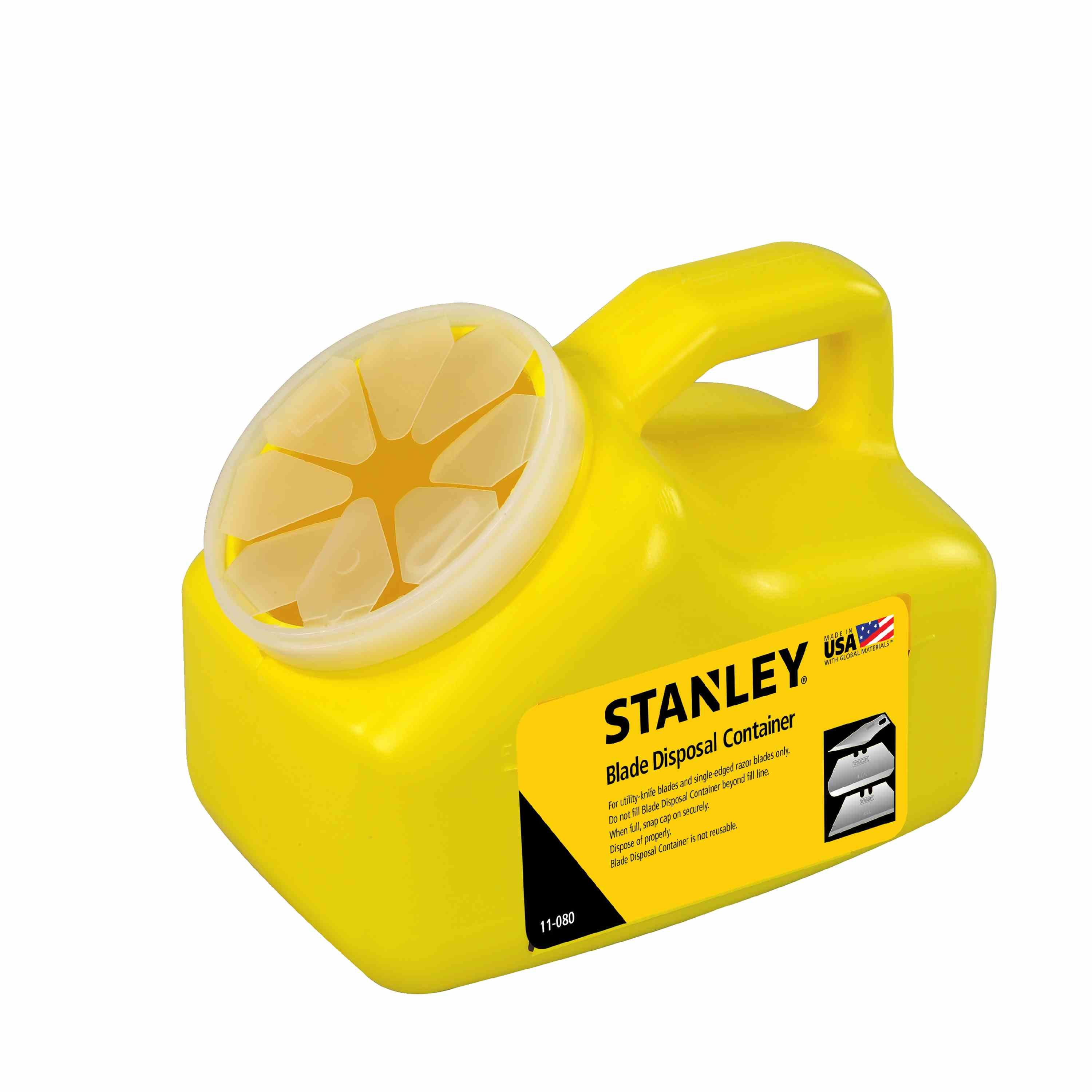 Stanley Tools - Blade Disposal Container - 11-080