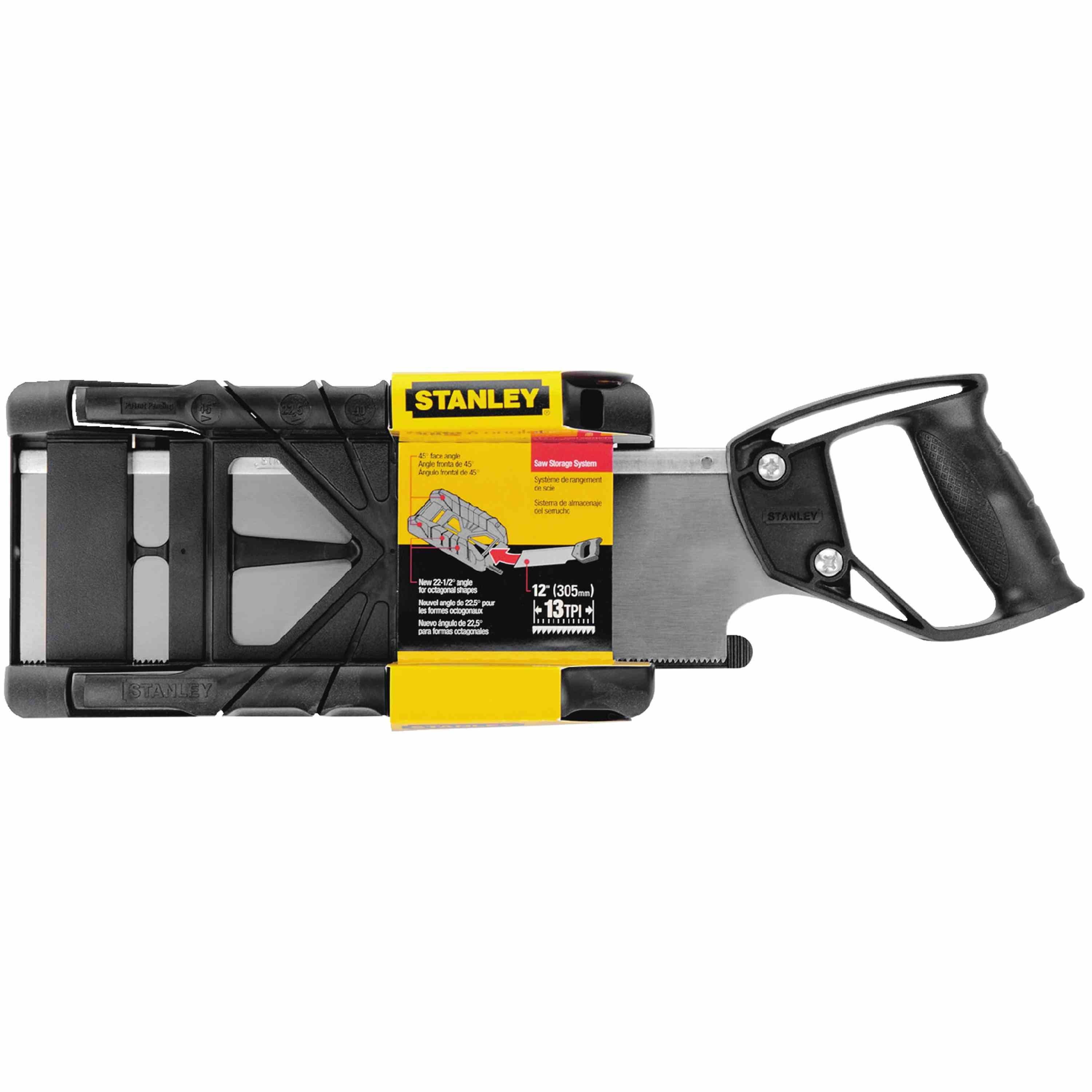 Stanley Tools - Saw Storage Mitre Box With Saw - 19-800