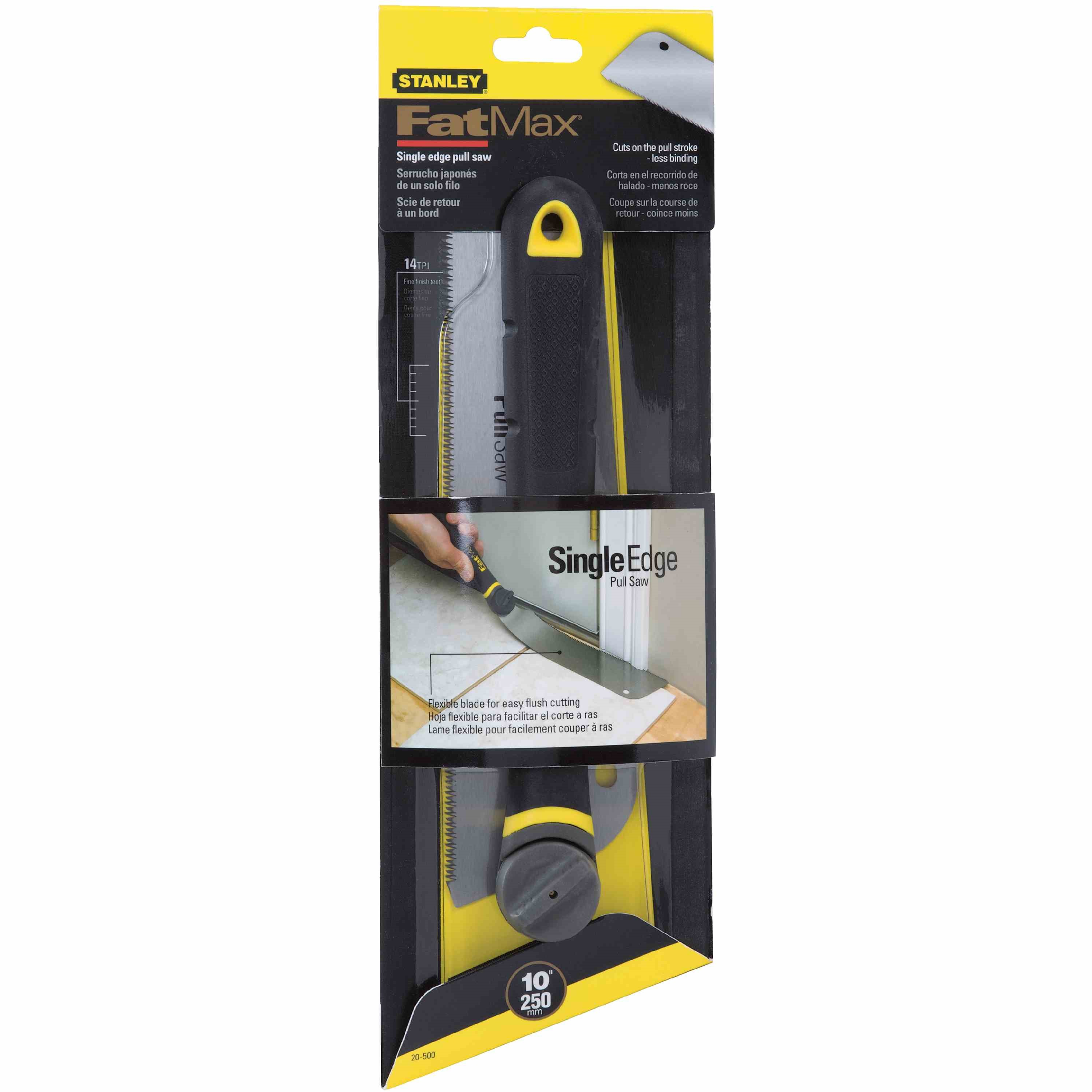 Stanley Tools - 9 in FATMAX Single Edge Pull Saw - 20-500