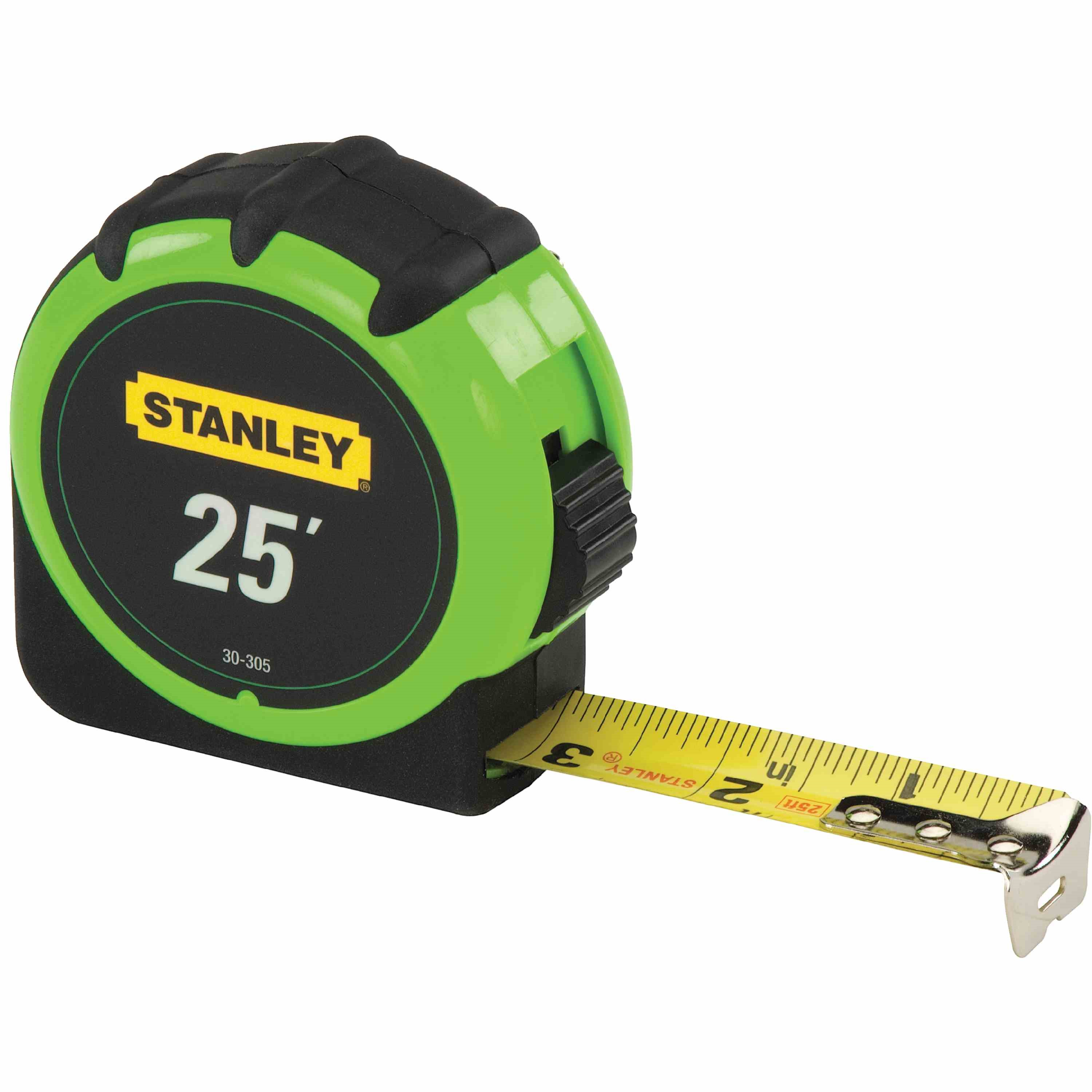 Stanley Tools - 25 ft HighVisibility Tape Measure - 30-305