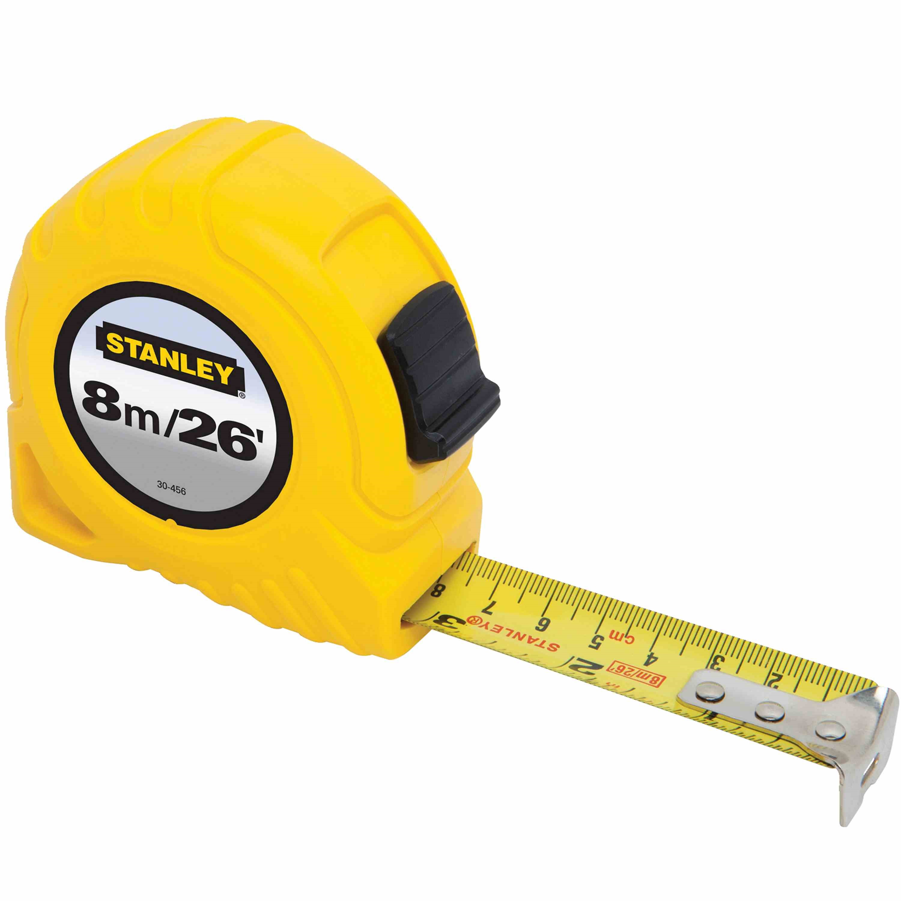 Stanley Tools - 8m26 ft Tape Measure - 30-456