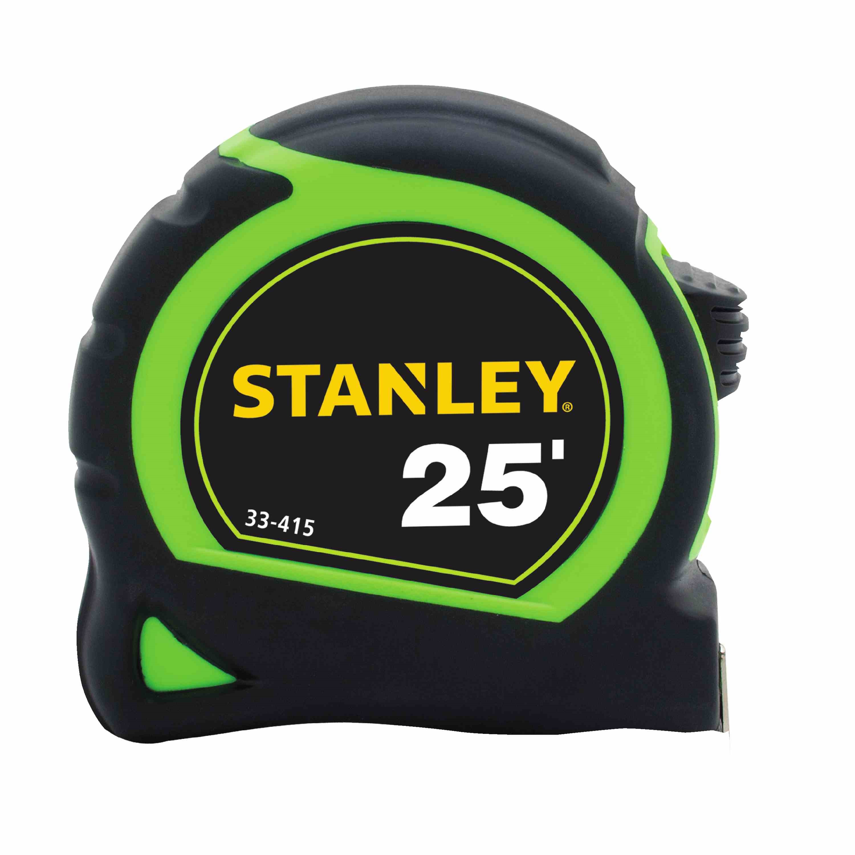 Stanley Tools - 25 ft HighVisibility Tape Measure - 33-415