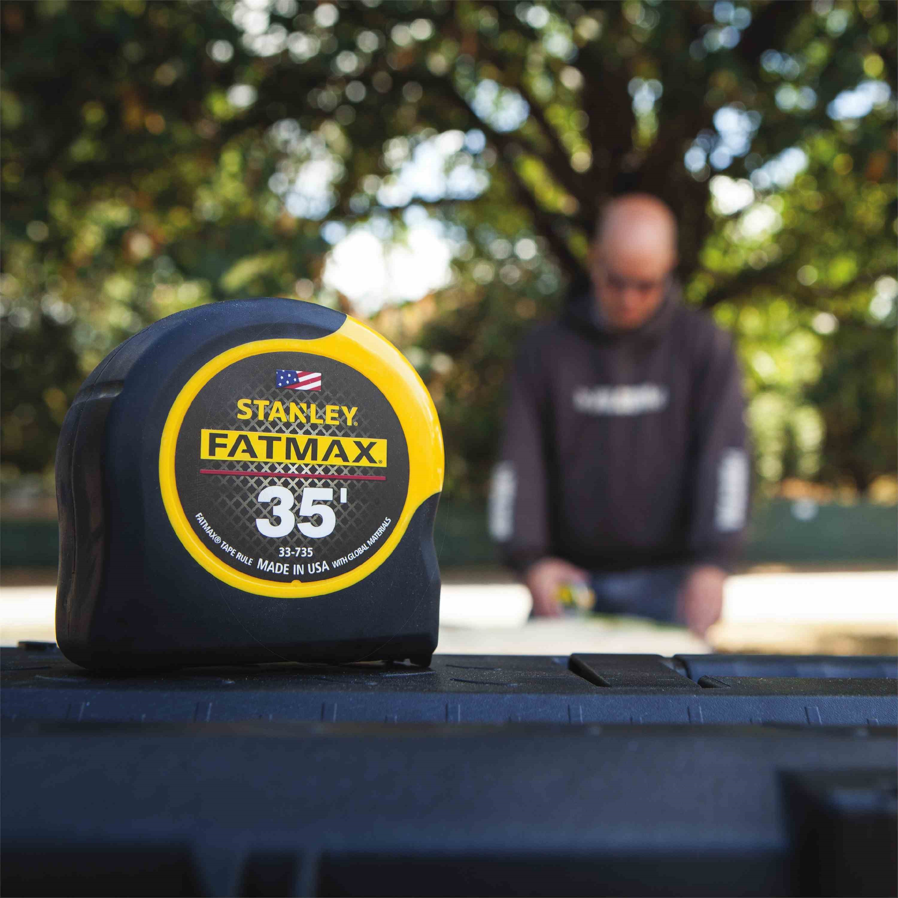 Stanley Tools - 35 ft FATMAX Tape Measure - 33-735