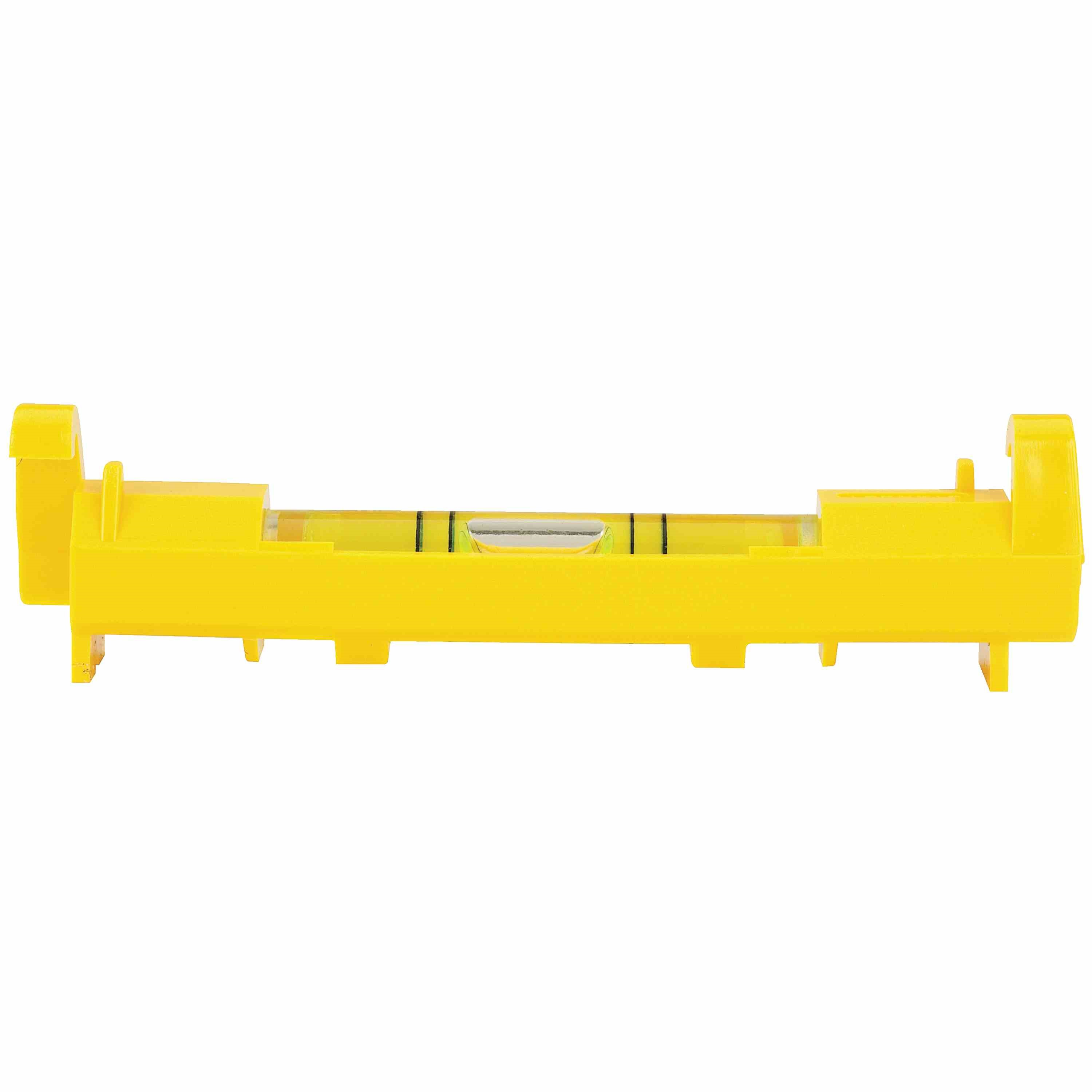 Stanley Tools - 3 in High Visibility Plastic Line Level - 42-193