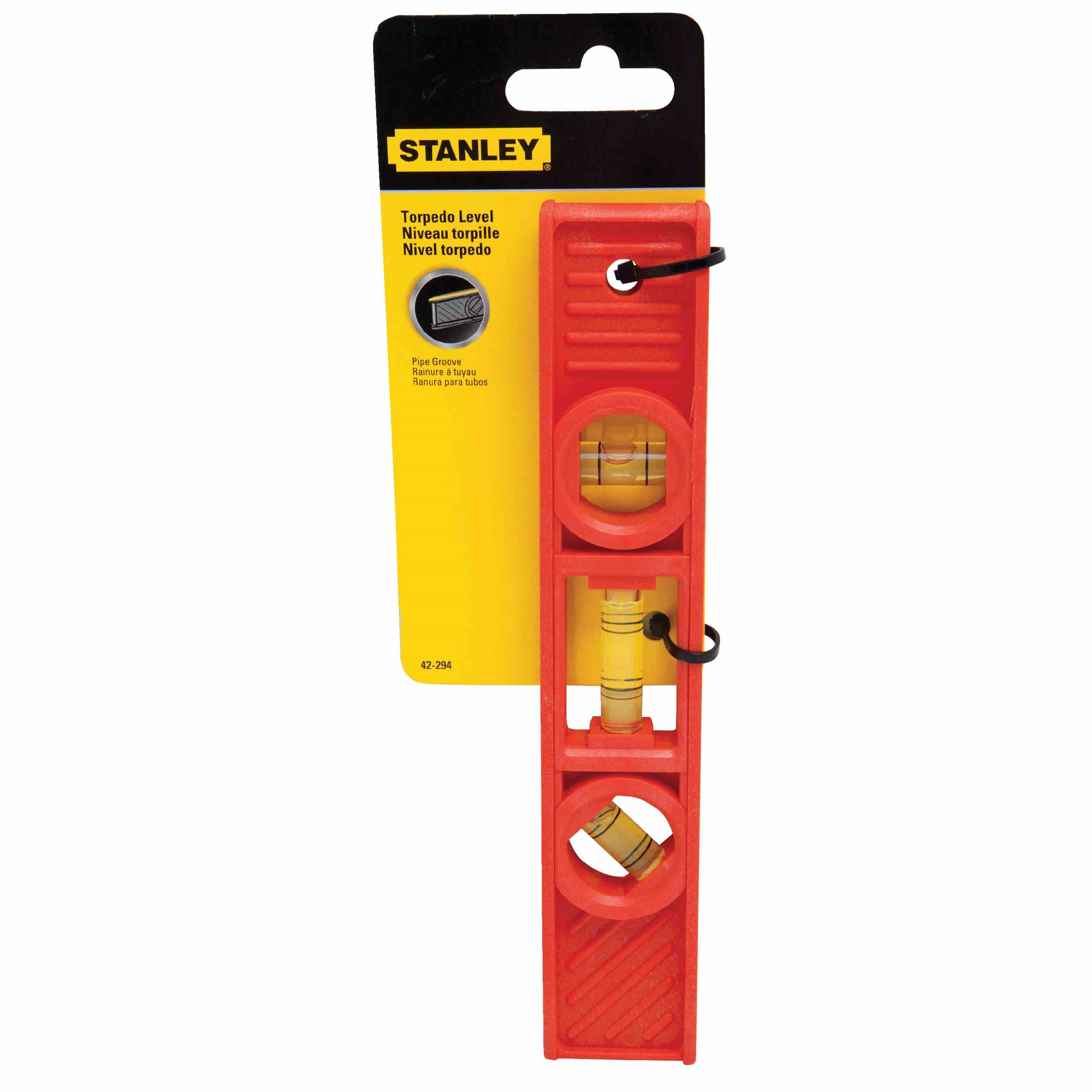 Stanley Tools - 8 in Torpedo Level - 42-294