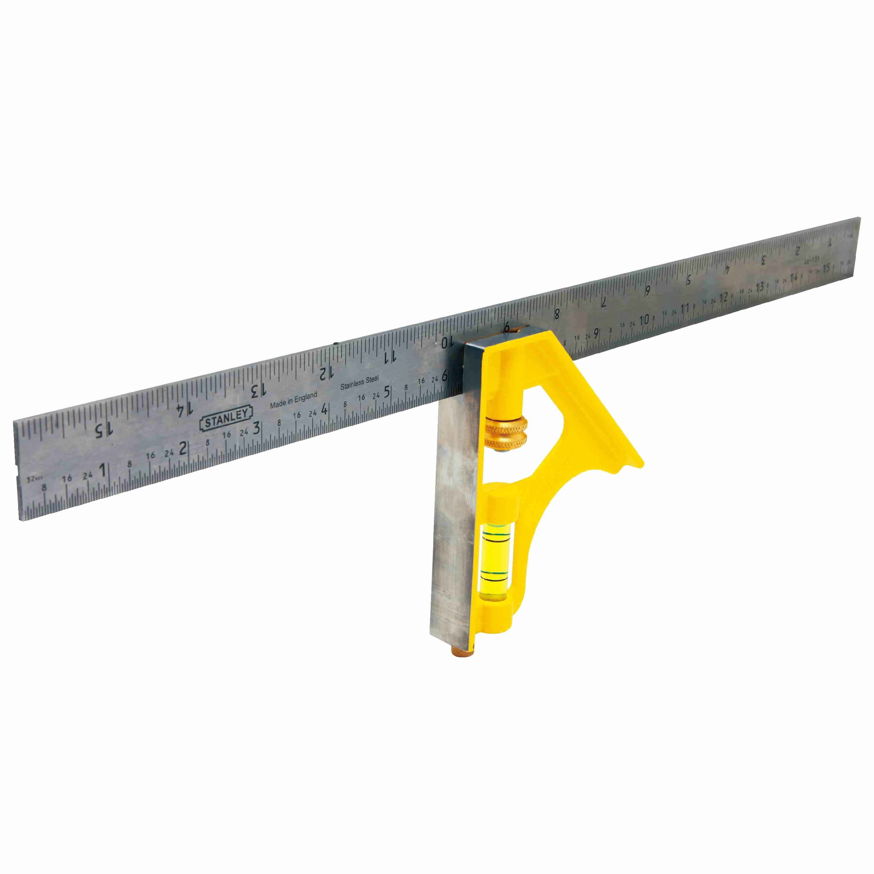 Stanley Tools - 16 in English Combination Square - 46-131