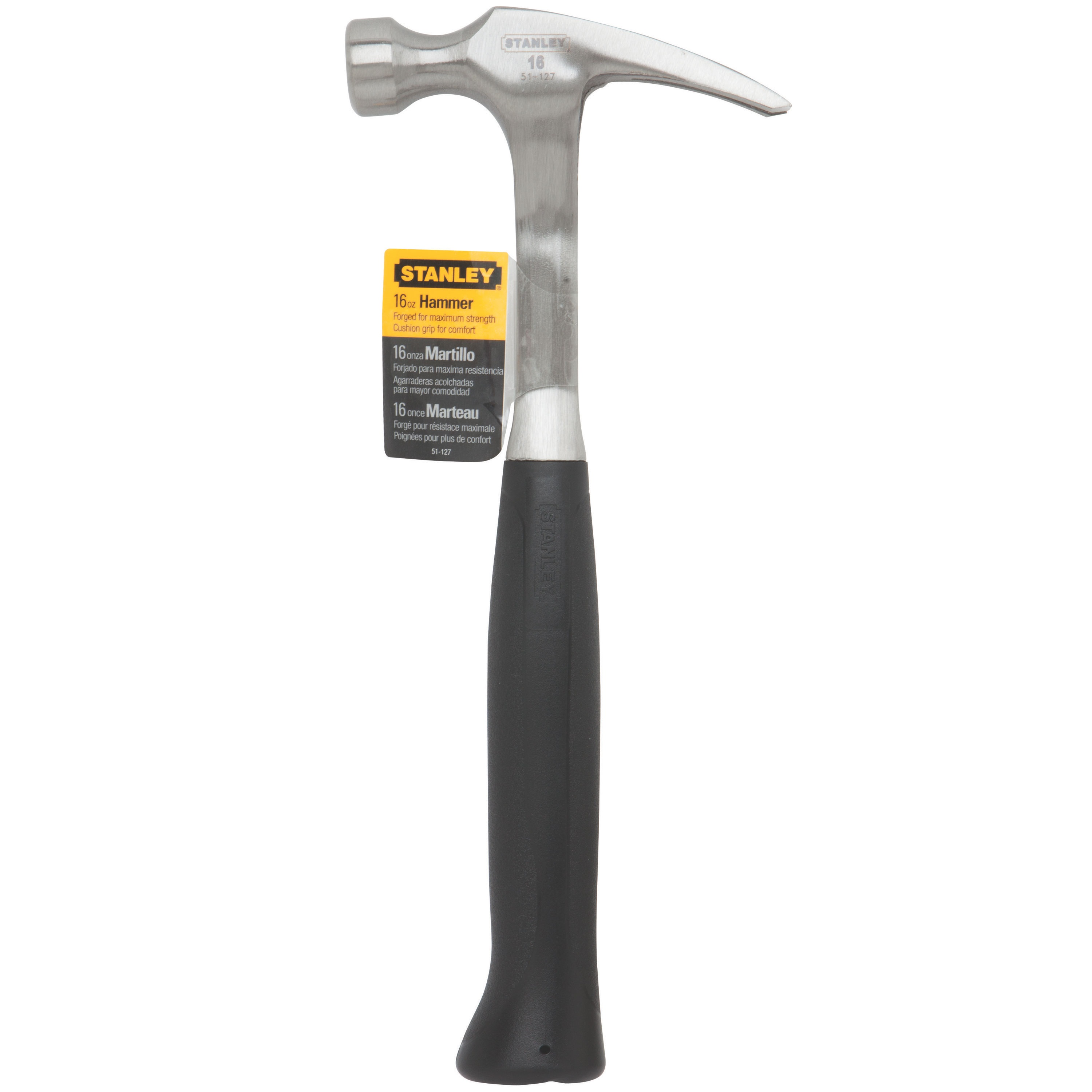 Stanley Tools - 16 oz Rip Claw Steel Nailing Hammer - 51-127