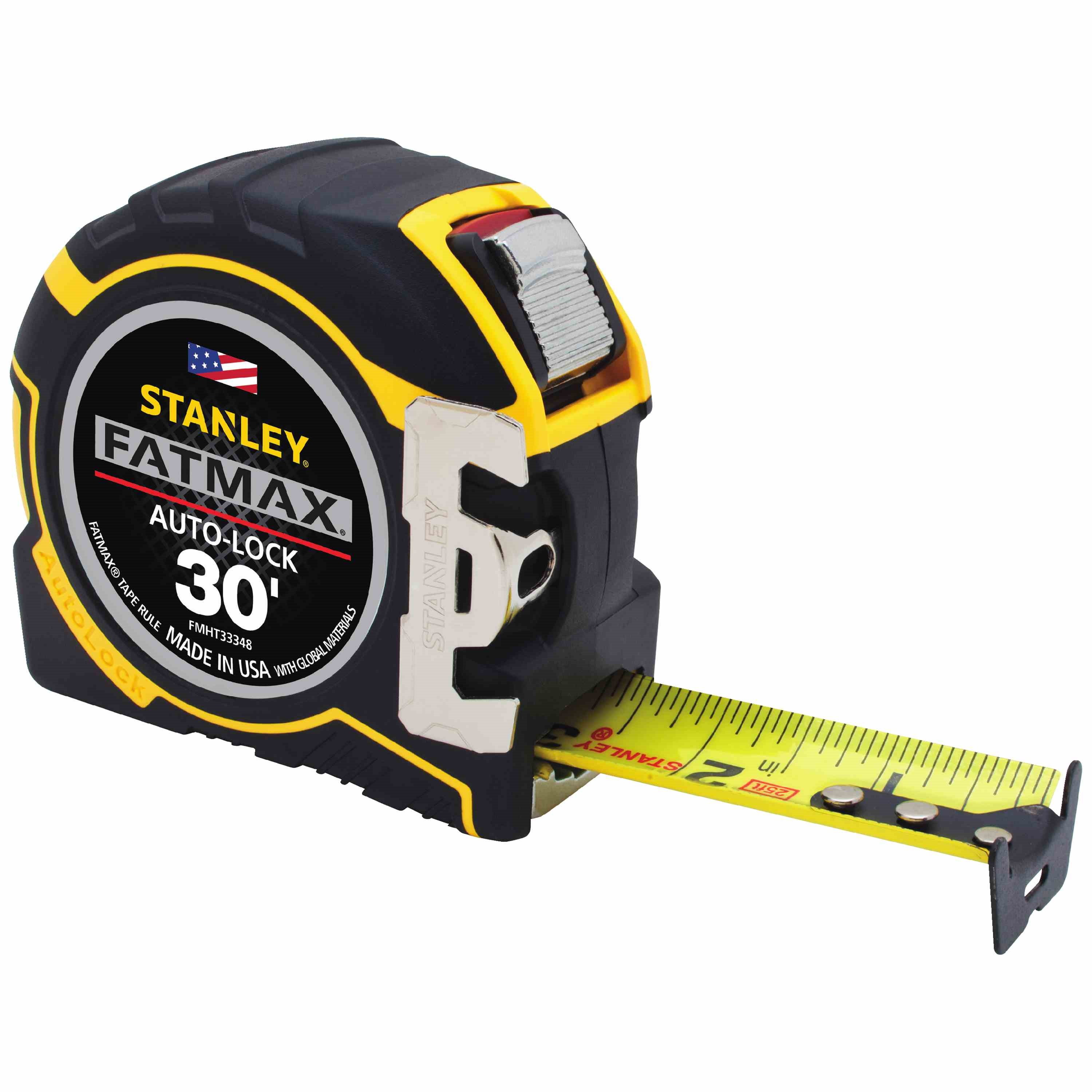 Stanley Tools - 30 ft FATMAX AutoLock Tape Measure - FMHT33348