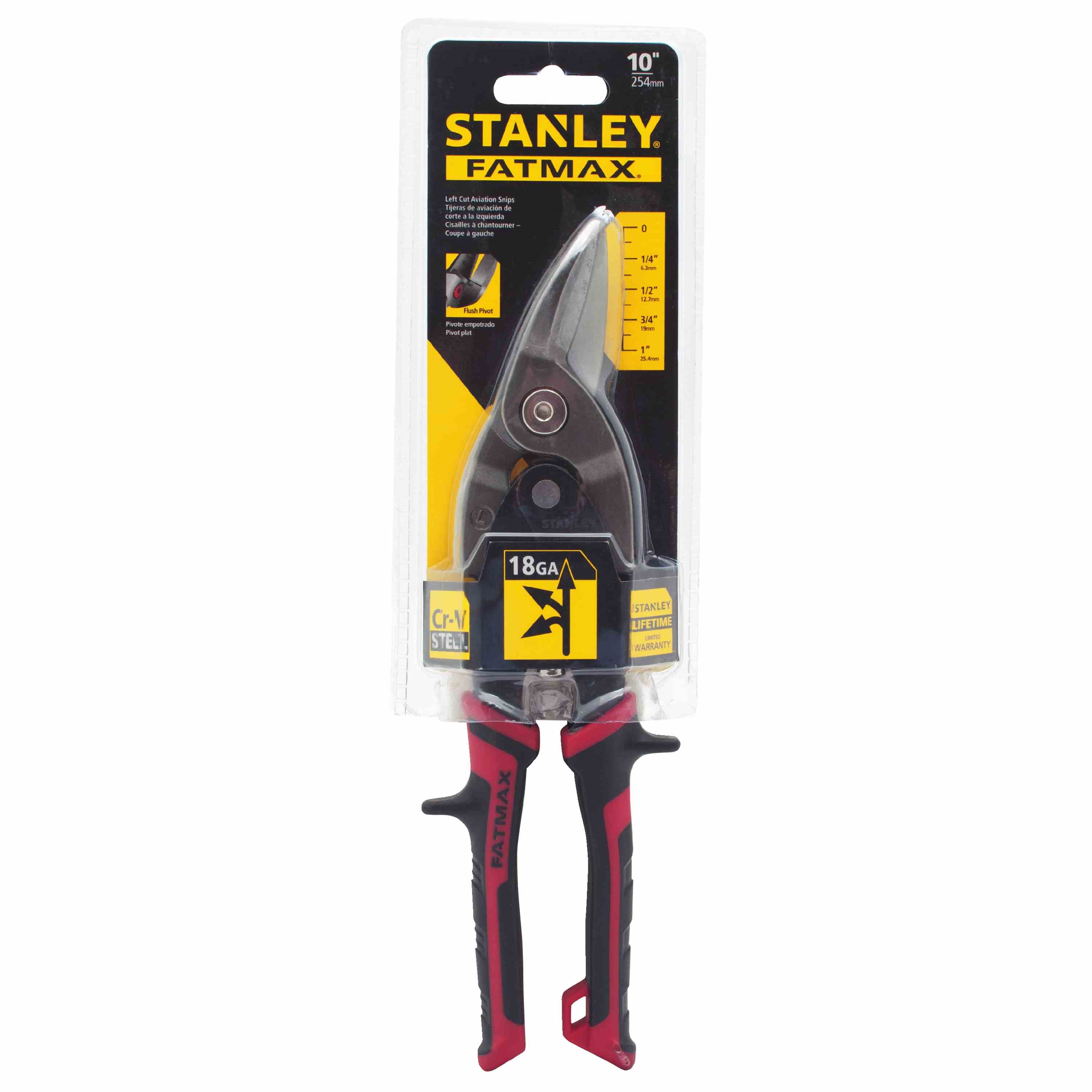 Stanley Tools - FATMAX Left Cut Aviation Snips - FMHT73755
