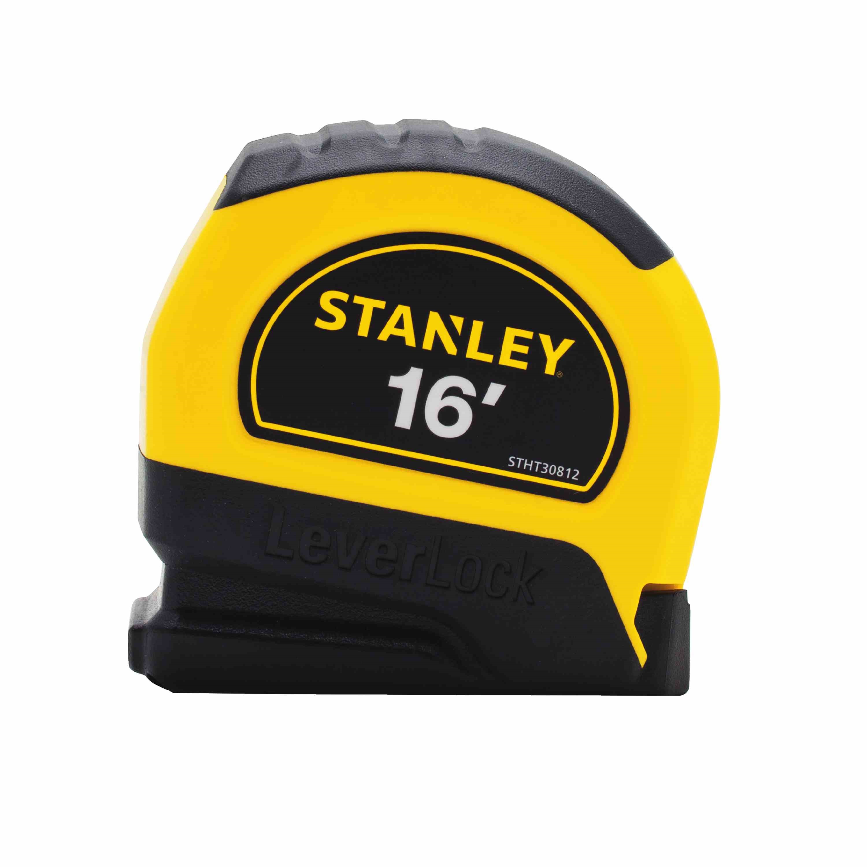 Stanley Tools - 16 ft LEVERLOCK Tape Measure - STHT30812