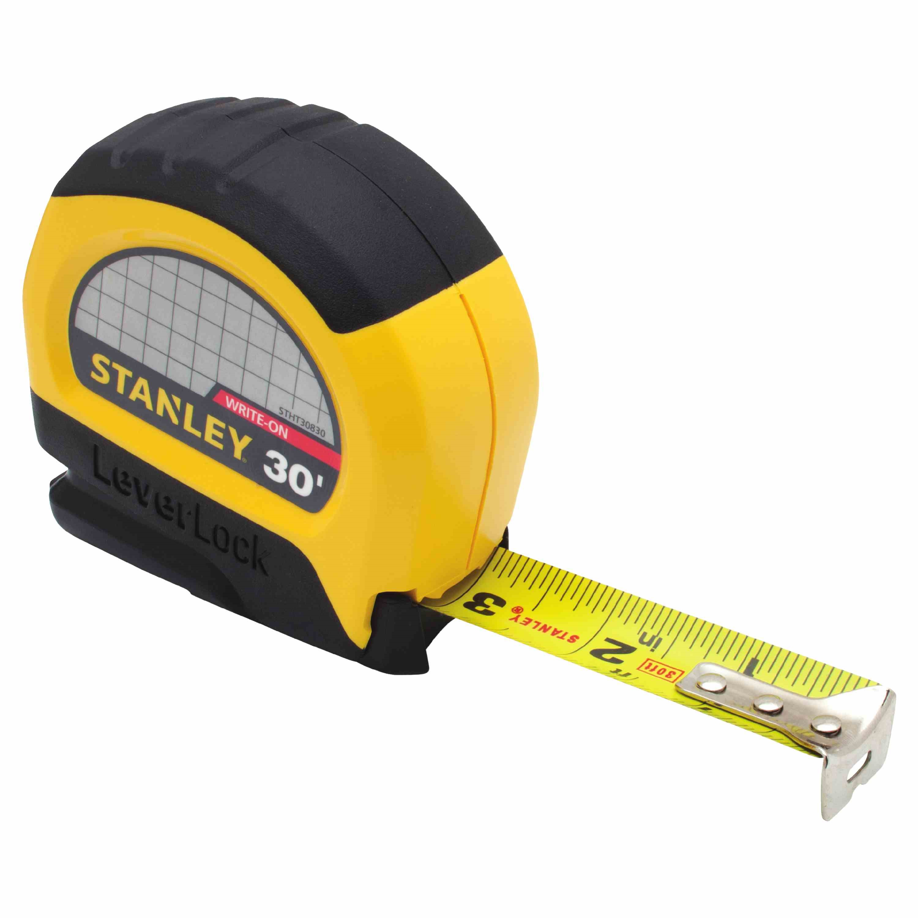Stanley Tools - 30 ft LEVERLOCK Tape Measure - STHT30830