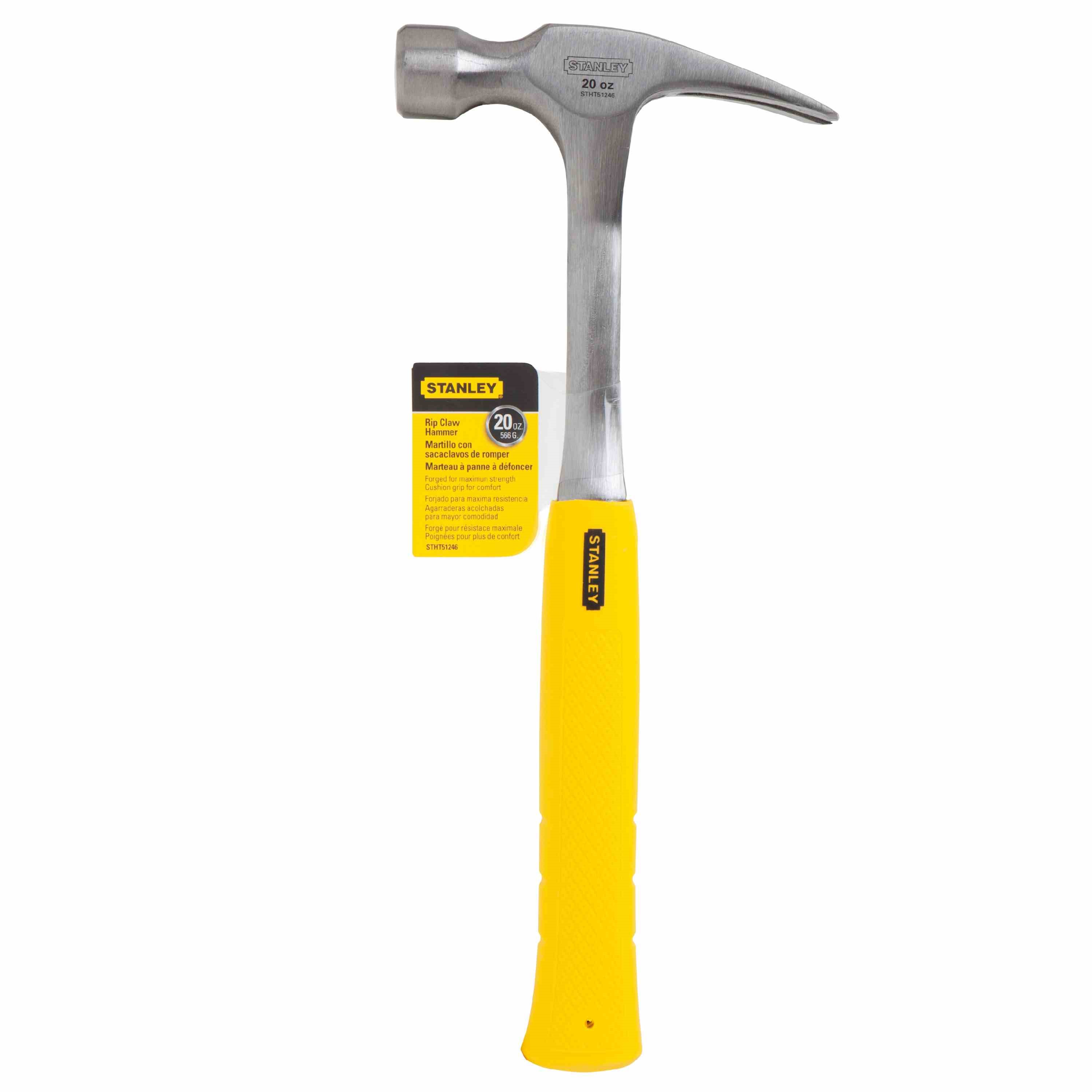 Stanley Tools - 20 oz Steel Nailing Hammer - STHT51246